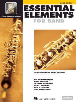 Essential Elements for Band, Oboe Book 1 w/EEI