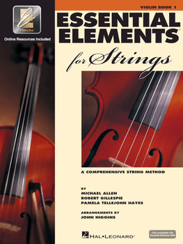 Essential Elements for Strings, Violin Book 1 w/EEI