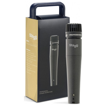 Stagg SDM70 Professional Multipurpose Cardioid Dynamic Microphone w/ Cartridge DC18