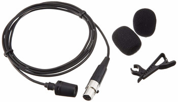 Shure CVL-B/C-TQG Centraverse Clip-On Lavalier Condenser Microphone