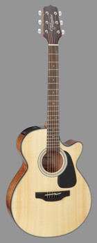 Takamine GF30CE NAT FXC Acoustic Electric Guitar w/ Cutaway, Natural