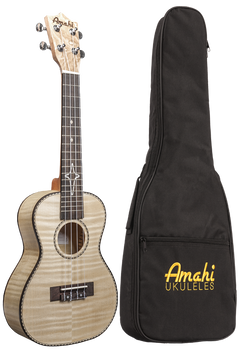 Amahi UK550C Concert Ukulele, Flamed Maple