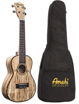 Amahi UK770C Concert Ukulele, Spalted Maple