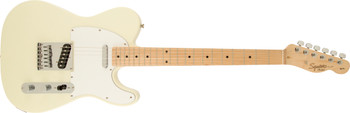 Squier 0310202580 Affinity Series Telecaster, Maple Fingerboard, Arctic White
