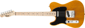 Squier 0310223550 Affinity Series Telecaster Left-Handed, Maple Fingerboard, Butterscotch Blonde