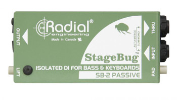 Radial SB-2 StageBug Passive Direct Box