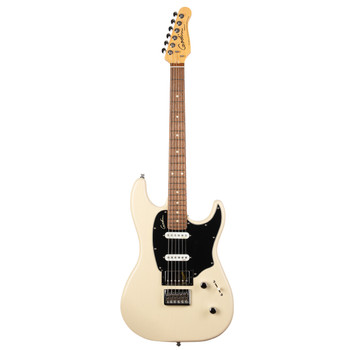 Godin 048434 Session HT Electric Guitar, Trans Cream RN