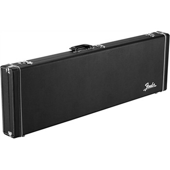 Fender 0996166306 Classic Series Wood Case for Precision Bass/Jazz Bass, Black
