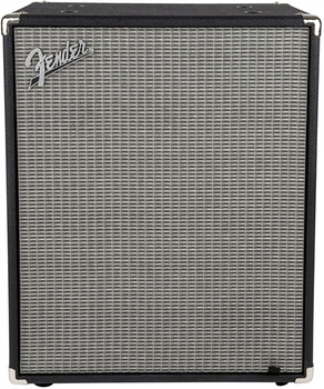 Fender 2380100000 Rumble 210 Cabinet, Black and Silver