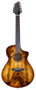 Breedlove PSCNX49CEMYMY Pursuit Exotic S Concert Amber 12 String CE