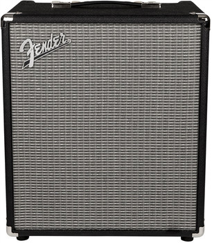 Fender 2370400000 Rumble 100 (V3), 120V, Black/Silver