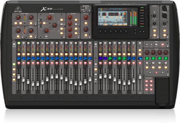 Behringer X32 40-Input, 25-Bus Digital Mixing Console