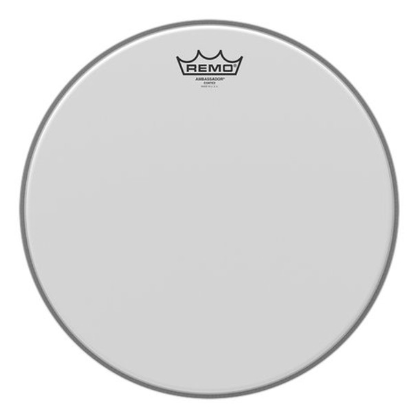 "Remo BA-0112-00 Batter, Ambassador, Coated, 12"" Diameter"