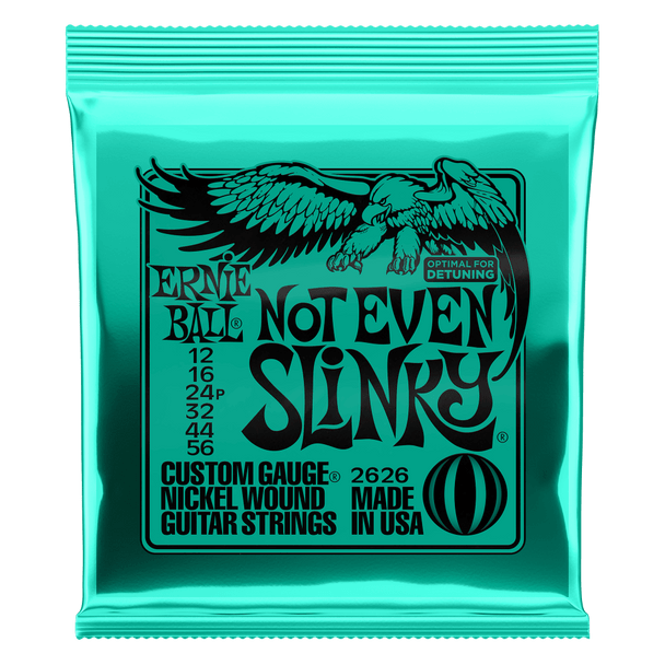 Ernie Ball P02626 Not Even Slinky Nickel Wound Electric Guitar Strings - 12-56 Gauge