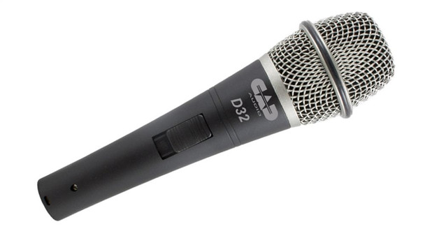 CAD D32X3 D32 Supercardioid Dynamic Vocal Microphone, 3 Pack