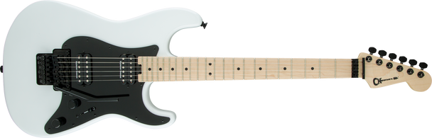 Charvel Pro-Mod So-Cal Style 1 HH FR, Maple Fingerboard, Snow White