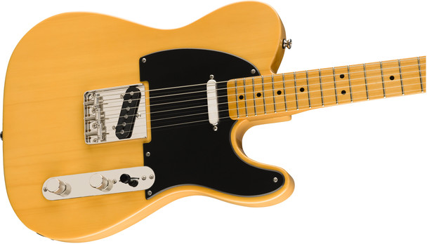 Squier 0374030550 Classic Vibe '50s Telecaster, Maple Fingerboard, Butterscotch Blonde