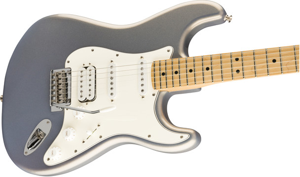 Fender 0144522581 Player Stratocaster HSS, Maple Fingerboard, Silver