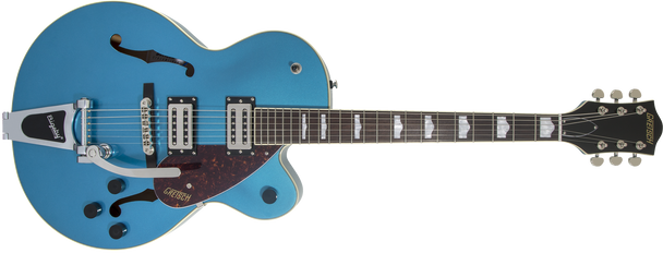 Gretsch 2804600502 G2420T Streamliner Hollow Body with Bigsby®, Laurel Fingerboard, Broad'Tron BT-2S Pickups, Riviera Blue