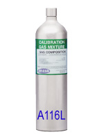 A116L Disposable Calibration Gas Cylinder