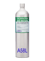 A58L Disposable Calibration Gas Cylinder