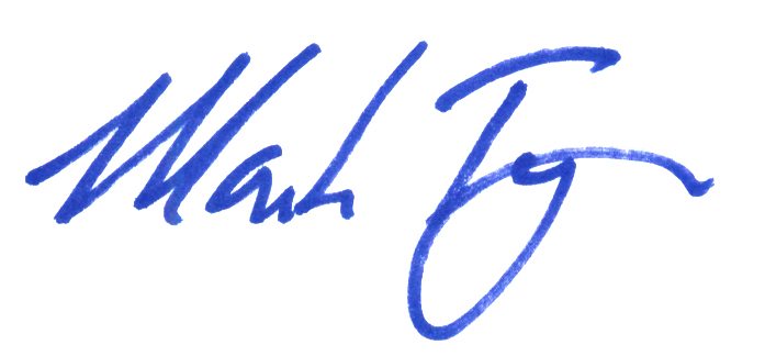Mark Tysee Signature