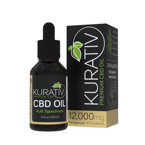 Kurativ Full Spectrum CBD Oil Tincture Drops are formulated using top quality full spectrum hemp extract blended with high-grade 100% Organic MCT Coconut Oil.  This mixture ensures maximum delivery of Cannabidiol ( CBD ) into your system. Our full Spectrum Oil contains a high concentration of CBD per dose, plus beneficial cannabinoids such as CBG , CBN, and CBDV. This product contains less than 0.3% THC, and remains legal in all 50 states.