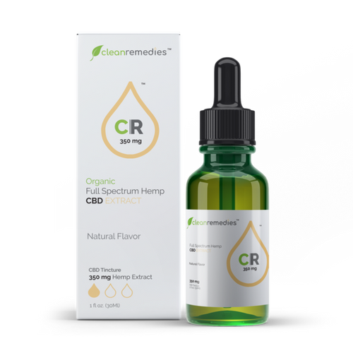 Clean Remedies 350 Full Spectrum Oil Tincture