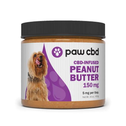 cbdMD Paws Peanut Butter 150 mg.