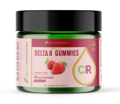 Delta 8 Gummies 300 MG (10 mg. per Gummy)