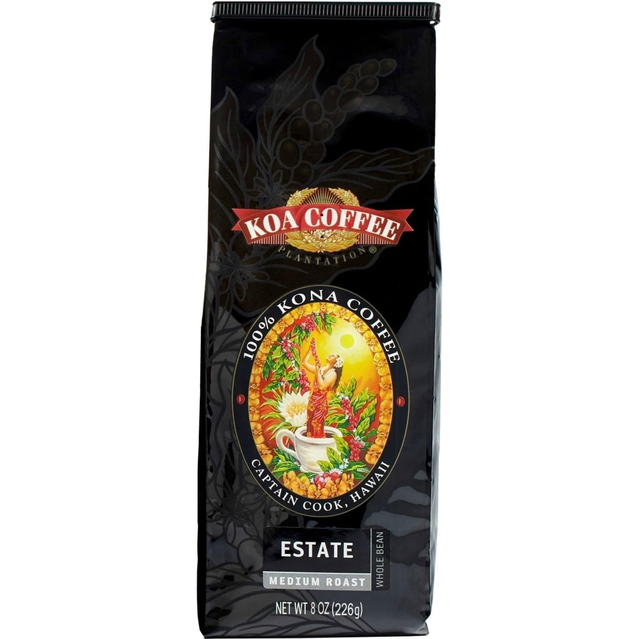 Estate Medium Roast Whole Bean Kona Coffee