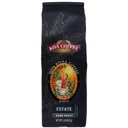 Kona Estate Dark Roast Whole bean Kona Coffee