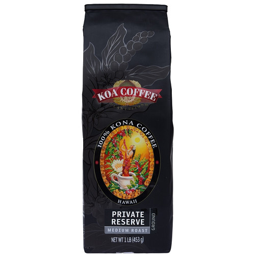 Private Reserve Kona Coffee Ground Kona Coffee