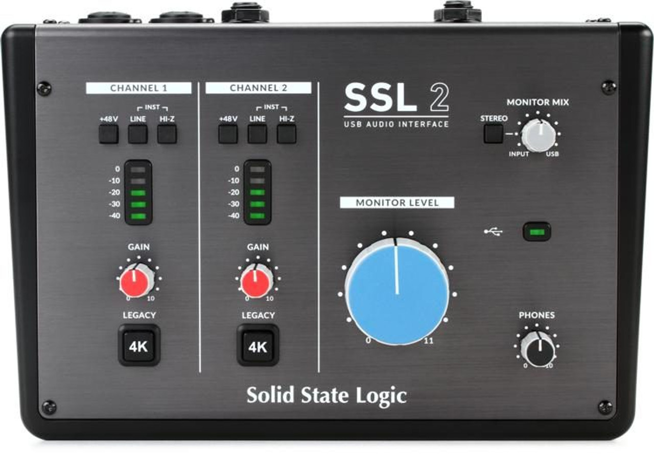 Solid State Logic SSL2 USB Audio Interface - STL Pro Audio