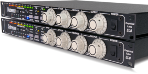 Empirical Labs - Distressor EL8 Stereo Pair. A True Modern Classic