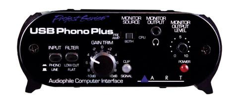 ART USB Phono Plus Audiophile Phono Preamp / Audio Interface
