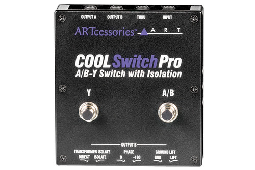 ART - CoolSWITCH Pro - Isolated Amp Switcher