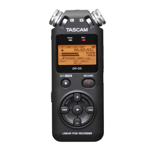 Tascam - DR-05 24-bit/96kHz Digital Recorder