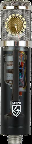 Lauten Audio - LA‐320 SERIES BLACK ‐ Large Diaphragm Vacuum Tube Condenser Microphone