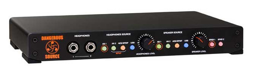 Dangerous Music  - SOURCE - Monitor Controller with Digital and Analog Inputs