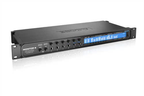 MOTU Monitor 8 - Monitor mixer, headphone amp and USB2/AVB audio interface