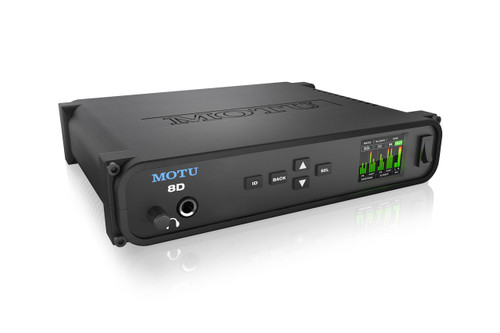 MOTU 8D USB2/AVB Ethernet AES3 and S/PDIF Audio Interface with DSP, wireless control and audio networking