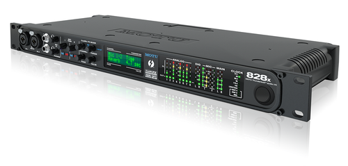 MOTU 828x ThunderboltTM/USB2 audio interface with on-board effects and mixing, 192kHz