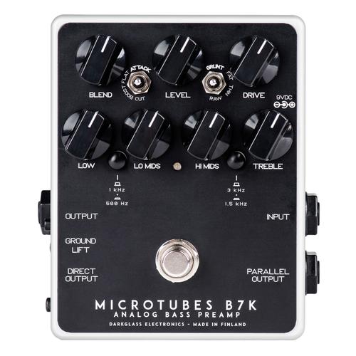Darkglass Electronics - Microtubes B7K V2 Bass Preamp Pedal
