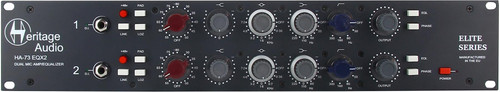Heritage Audio HA73EQX2 ELITE - Dual Channel Mic Preamp with EQ