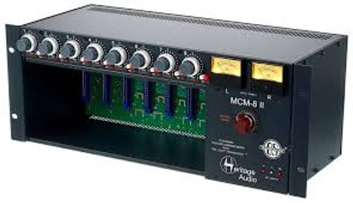 Heritage Audio MCM-8 MK2 - 8 slot 500 series chassis/mixer