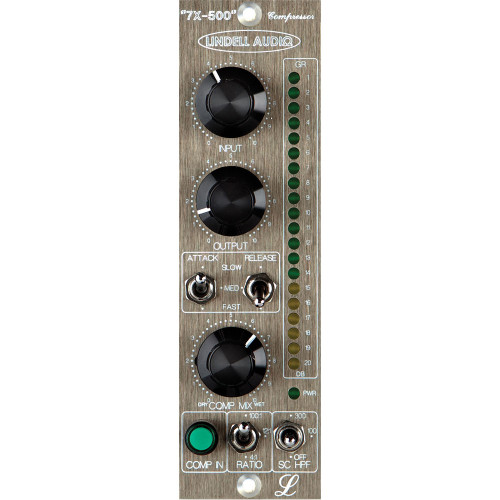 Lindell Audio 6X-500 500 Series Microphone Preamp & EQ