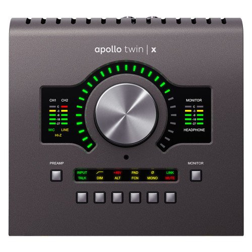 Universal Audio Apollo Twin X DUO 10x6 Thunderbolt Audio Interface with UAD DSP