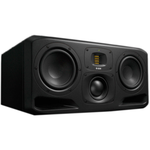 ADAM Audio S3H Dual 7 inch 3-way Powered Midfield Studio Monitor (Pair)