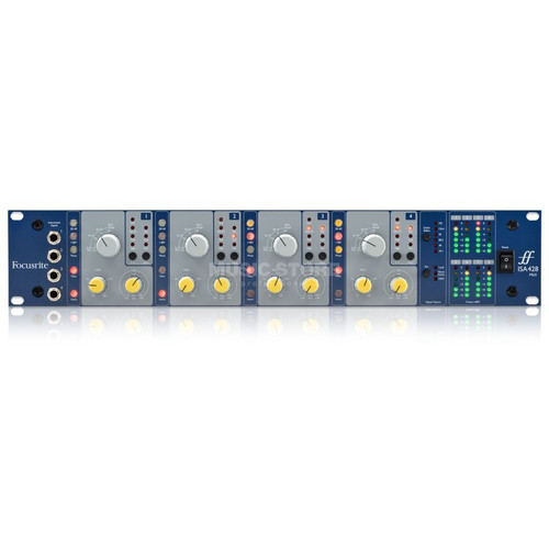Focusrite ISA428 MkII 4-channel Microphone Preamp